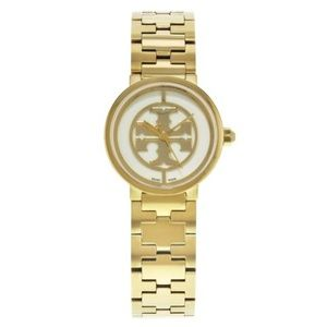 Tory Burch Gold Tone Stainless Steel Ladies Watch